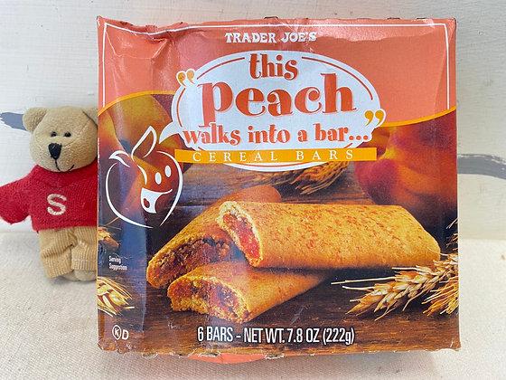 【Sunny Buy】 Trader Joe's Peach walks into a bar Cereal bars 7.8oz