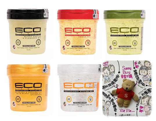 【Sunny Buy】Eco Style Professional Styling Gel 16oz (5 Types)