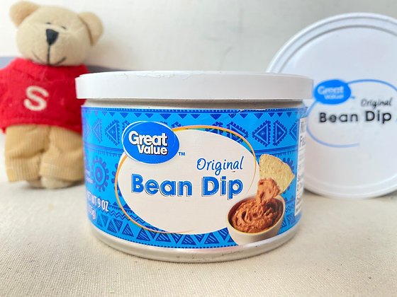 【Sunny Buy】Great Value Original Bean Dip 9oz (#20607)