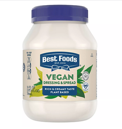【Sunny Buy】Best Foods Vegan Dressing and Sandwich Spread Mayo 24oz (#16238)