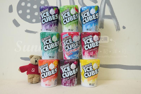 【Sunny Buy】Ice Breakers Ice Cubes Sugar Free Gum 40 Pieces