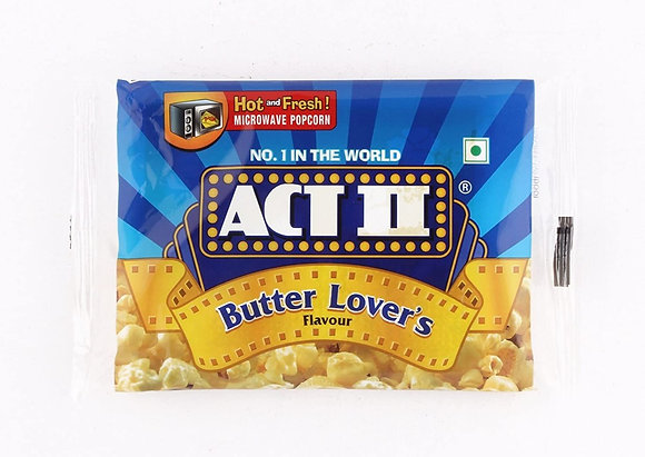 【Sunny Buy】ACT II Butter Lovers Microwave Popcorn Single Pack 2.75oz
