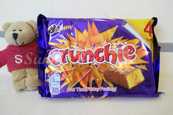 【Sunny Buy】Cadbury Crunchie Chocolate 4 Bars 3.68oz (#12933)