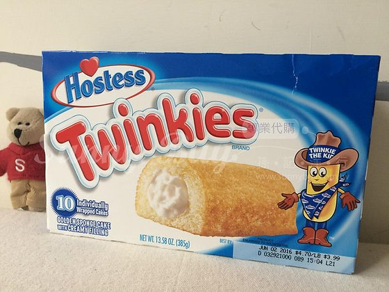 【Sunny Buy】Hostess Twinkies 10 Individually Wrapped Cakes 13.58oz (#3379)