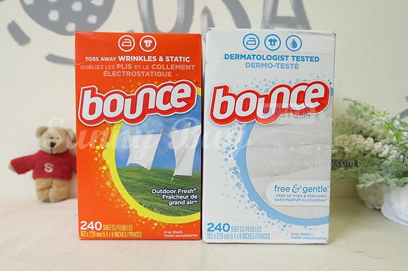 【Sunny Buy】Bounce Fabric Softener Dryer Sheets 240 Sheets (2 Kinds)