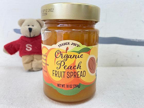 【Sunny Buy】 Trader Joe's Organic Peach Fruit Spread 10oz
