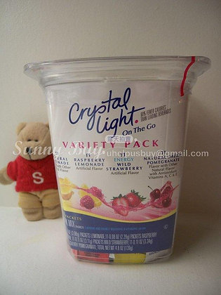 【Sunny Buy】 Crystal Light Variety Pack 44 Packets 4.8oz (#0100)