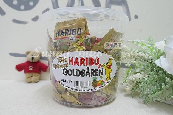 【Sunny Buy】Haribo GoldBaren Gummy Bear  100ct / 980g (#10265)