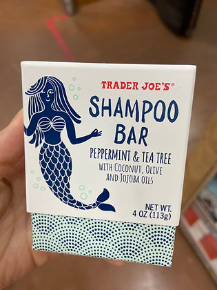 【Sunny Buy】Trader Joe's Shampoo Bar Peppermint & Tea Tree 4oz