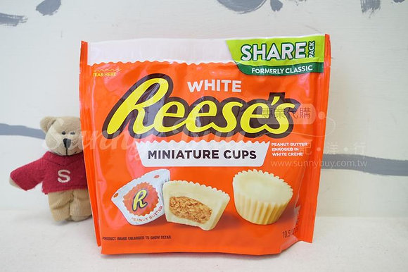 【Sunny Buy】Reese's Miniature Cups / White Chocolate 10.5oz (#7244)