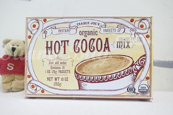 【Sunny Buy】Trader Joe's Organic Hot Cocoa Mix 10oz (#18763)