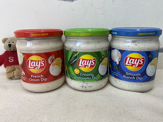【Sunny Buy】Lay's French Onion / Creamy Jalapeno / Smooth Ranch Dip 15oz