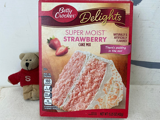 【Sunny Buy】Betty Crocker Strawberry Cake Mix 15.25oz (#17531)