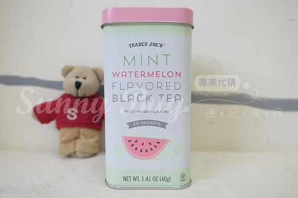 【Sunny Buy】Trader Joe's Mint Watermelon Flavored Black Tea 1.41oz (#13351)