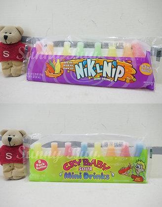 【Sunny Buy】NIK-L-NIPS Wax Bottles Mini Drinks/ 2 Flavors 2.79oz (#14655/15127)