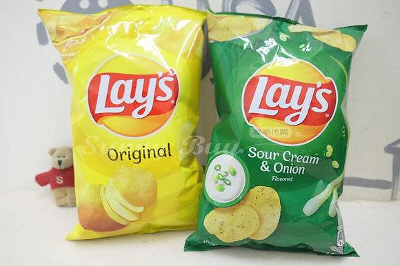 【Sunny Buy】 Lay's Potato Chips 140g Original / Sour Cream & Onion
