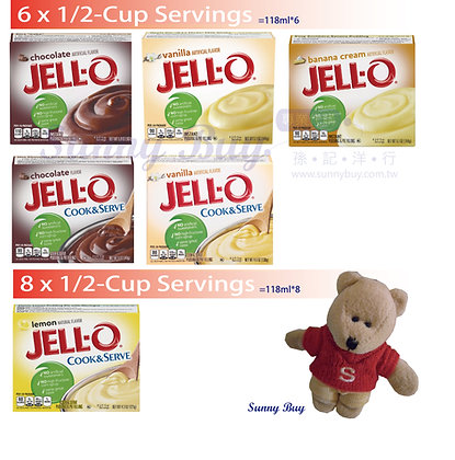 【Sunny Buy】Jell-O Instant Pudding & Pie Filling 6-8 Servings