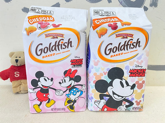 【Sunny Buy】Goldfish Baked Snack Crackers Mickey Mouse & Minnie 6.6oz