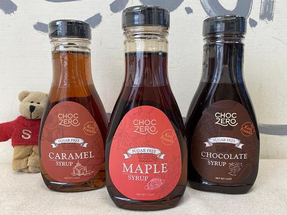 【Sunny Buy】 ChocZero Sugar Free Caramel/Maple/Chocolate Syrup 12oz