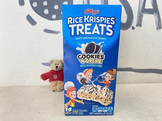 【Sunny Buy】Kellogg's Rice Krispies Treats / Cookeis  N  Creme 14 bars