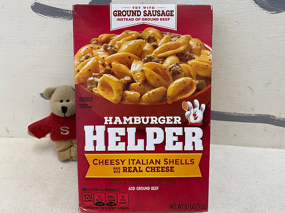 【Sunny Buy】Hamburger Helper / Cheesy Italian Shells 6.1oz (#201490