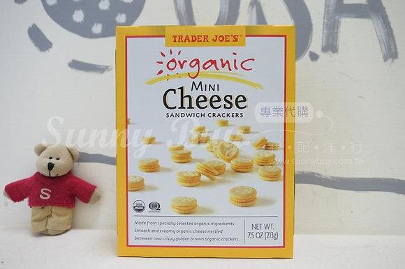 【Sunny Buy】Trader Joe's Organic Mini Cheese Sandwich Crackers 7.5oz (#15761)