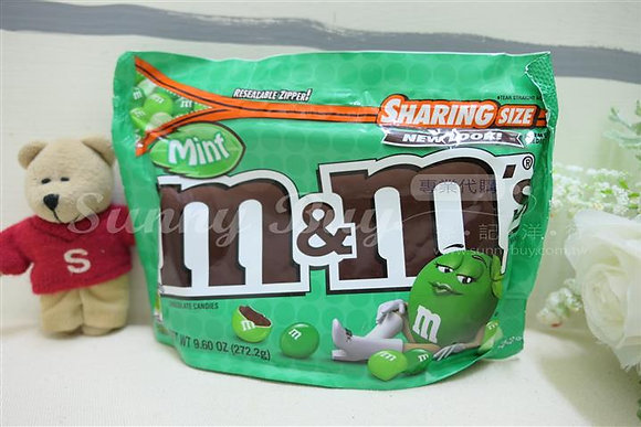 【Sunny Buy】M&M's Mint Chocolate Candy 9.6oz (#8502)