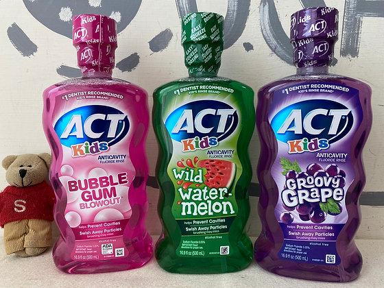 【Sunny Buy】ACT Kids Anticavity Fluoride Rinse  16.9oz
