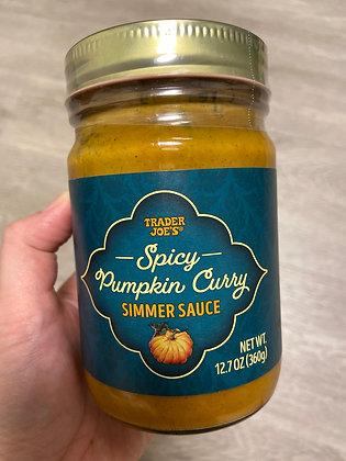 【Sunny Buy】Trader Joe's Spicy Pumpkin Curry Simmer Sauce 12.7oz (#17685)