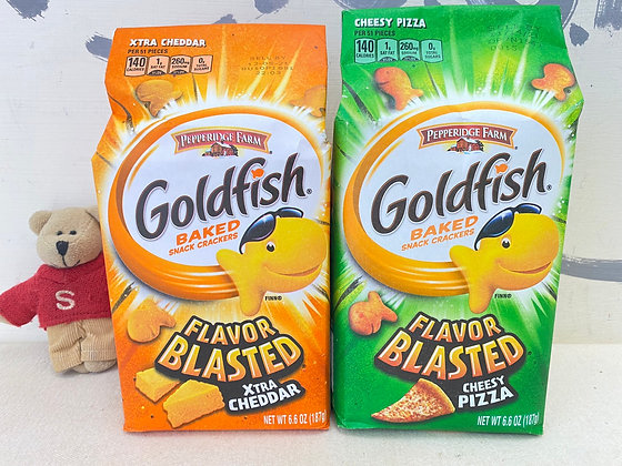 【Sunny Buy】Goldfish Baked Snack Crackers / Flavor Blasted 6.6oz (2 Flavors)
