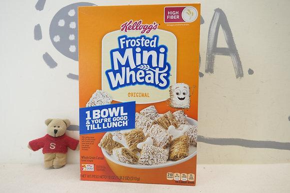 【Sunny Buy】Kellogg's Frosted Mini Wheats Cereal 18oz (#20467)