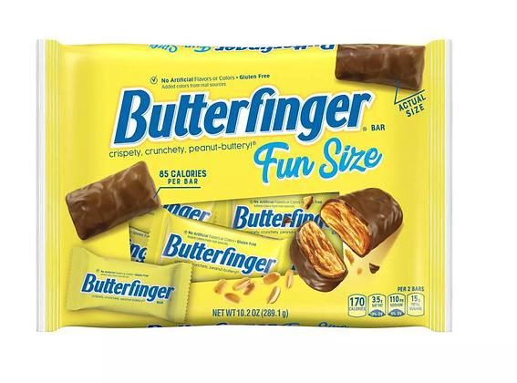 【Sunny Buy】Butterfinger Chocolate Bar Halloween Fun Size Bag 10.2oz (#8252)