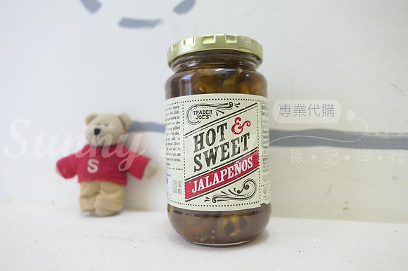 【Sunny Buy】 Trader Joe's Hot & Sweet Jalapenos 12oz (#17533)