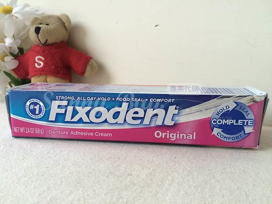 【Sunny Buy】Fixodent Complete Original Denture Adhesive Cream 2.4 oz (# 3171)