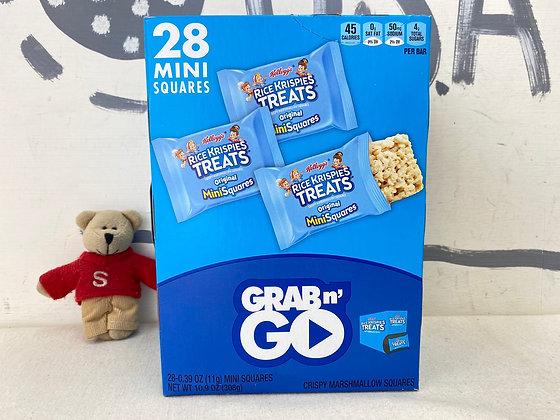 【Sunny Buy】Kellogg's Rice Krispies Treats /Original 28 Mini Squares
