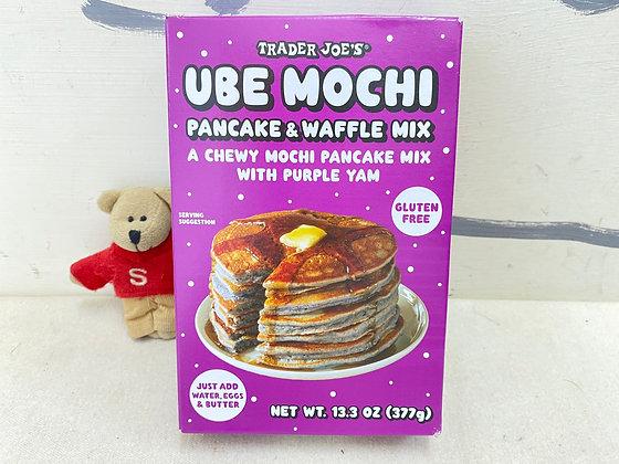 【Sunny Buy】Trader Joe's UBE Mochi Pancake & Waffle Mix 13.3oz (#16478)