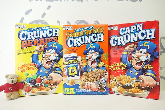 【Sunny Buy】Cap'n Crunch / Captain Crunch Original Cereal 3 Flavaors 14oz