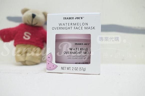 【Sunny Buy】Trader Joe's Watermelon overnight face mask 2oz