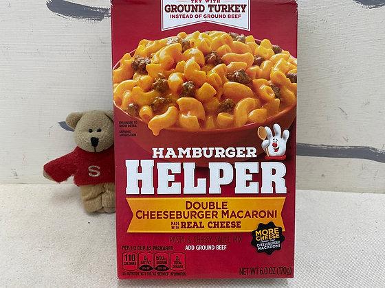 【Sunny Buy】 Hamburger Helper / Double Cheeseburger Macaroni  6oz (#20156)