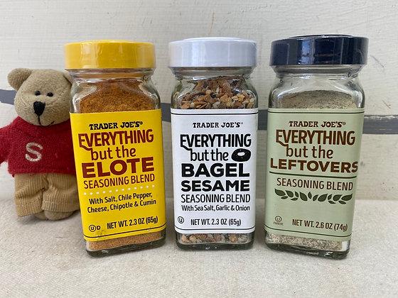 【Sunny Buy】Trader Joe's Seasoning...Everything but the Bagel/Elote/Leftovers