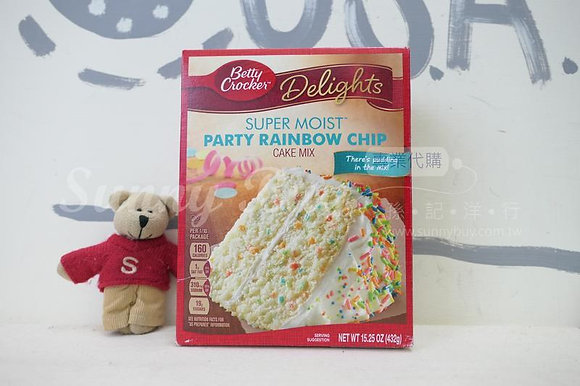 【Sunny Buy】Betty Crocker Party Rainbow Chip Cake Mix 15.25oz (#12651)
