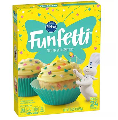 【Sunny Buy】Pillsbury Funfetti Spring Cake Mix 15.25oz