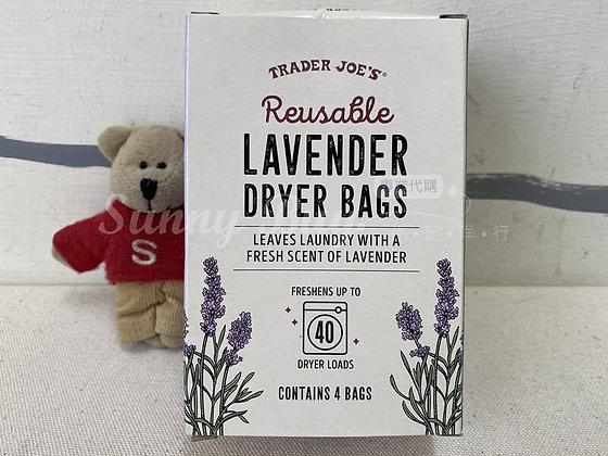 【Sunny Buy】 Trader Joe's Lavender Dryer Bags 4ct (#18381)