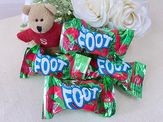【Sunny Buy】 Fruit by the Foot 4 Rolls (Strawberry & Berry Tie Die) (#20472)