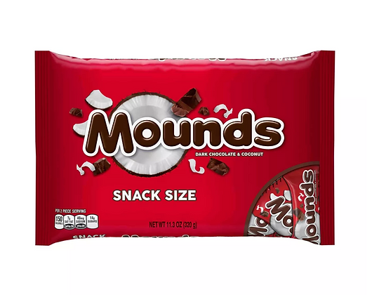 【Sunny Buy】Mounds Dark Chocolate Bars Halloween Bag 11.3oz (#15707)