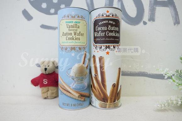 【Sunny Buy】 Trader Joe's Baton Wafer Cookies 5oz 2 Flavors