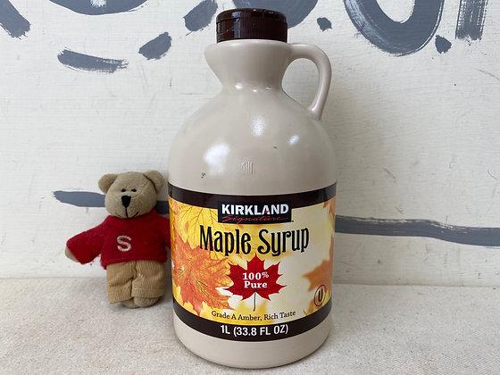 【Sunny Buy】 Kirkland Signature Maple syrup 33.8oz (#20169)