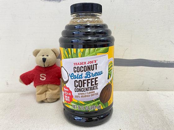 【Sunny Buy】Trader Joe's Coconut Cold Brew Coffee 16oz