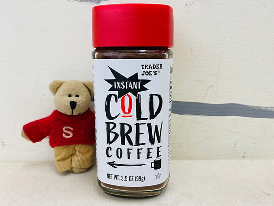 【Sunny Buy】Trader Joe's Instant Cold Brew Coffee 3.5oz (#0016)