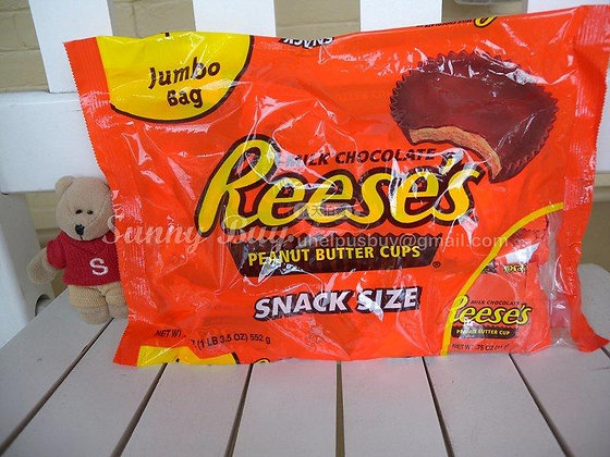 【Sunny Buy】Reese's Peanut Butter Cups Jumbo Bag 19.5oz (#0035)